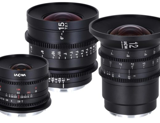 Three new Laowa cinema lenses for Canon RF mount