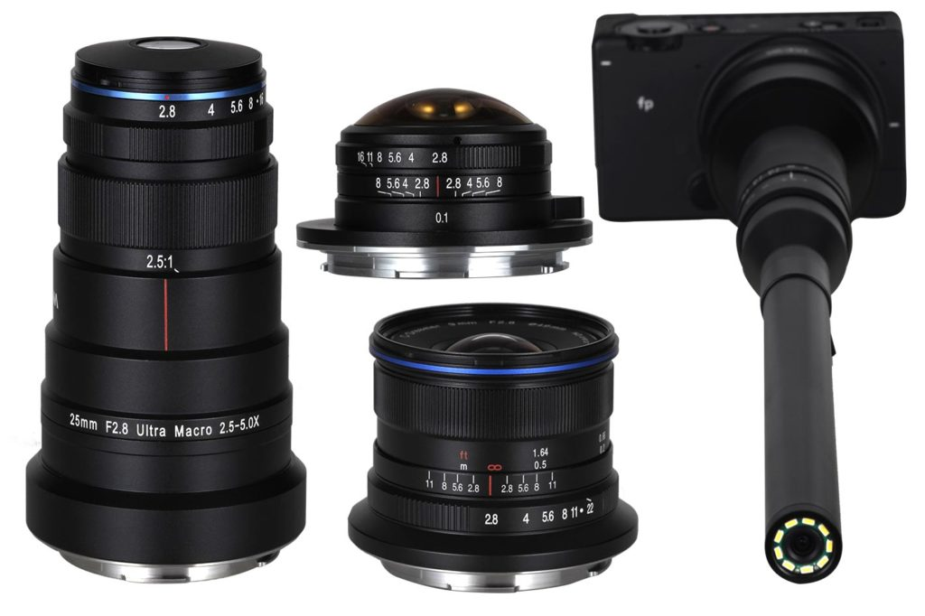 Venus Optics announces 4 new L mount lenses