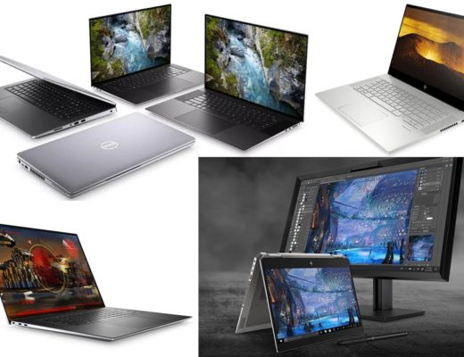 Dell, HP and Microsoft: new mobile workstations for creatives