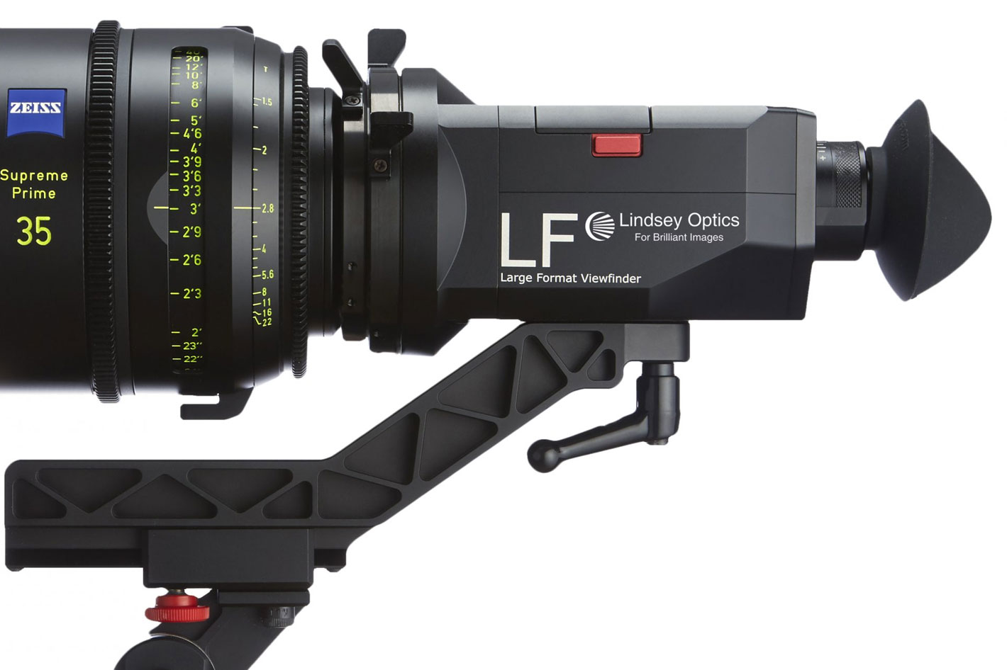 Lindsey Optics: the Large Format Viewfinder for Super 35 and beyond