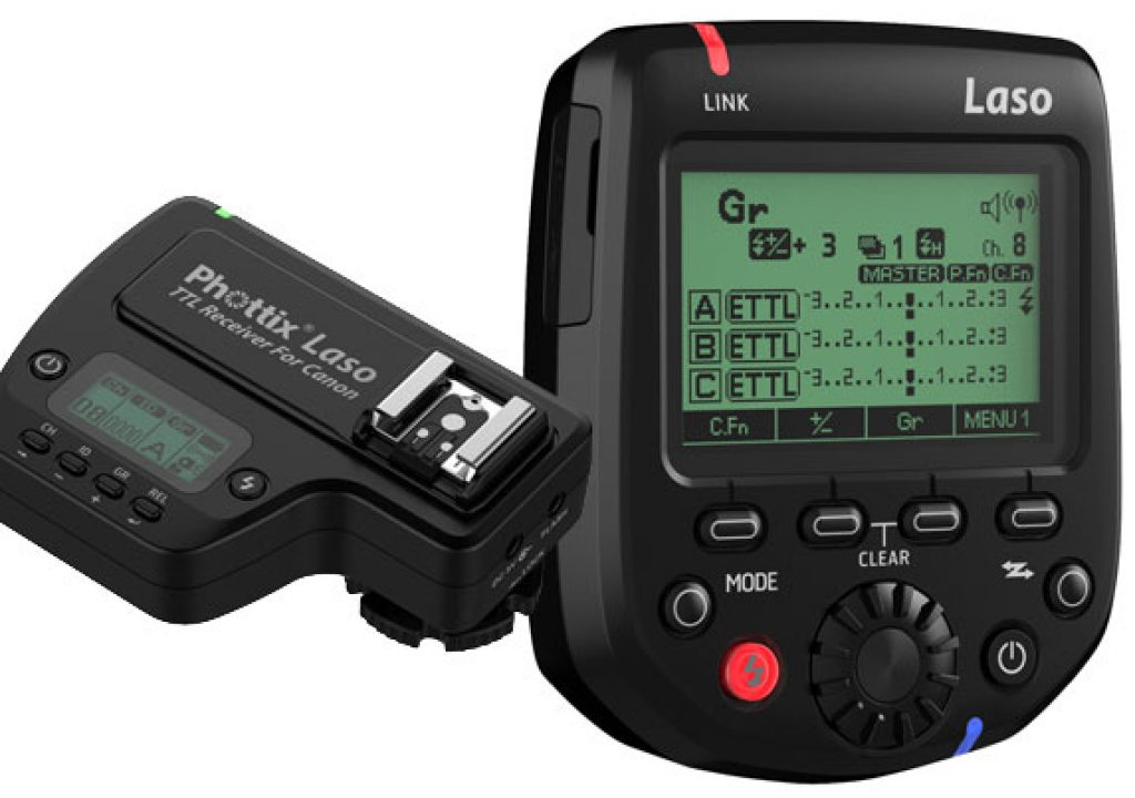 Phottix Laso: an alternative flash trigger for Canon's RT 1