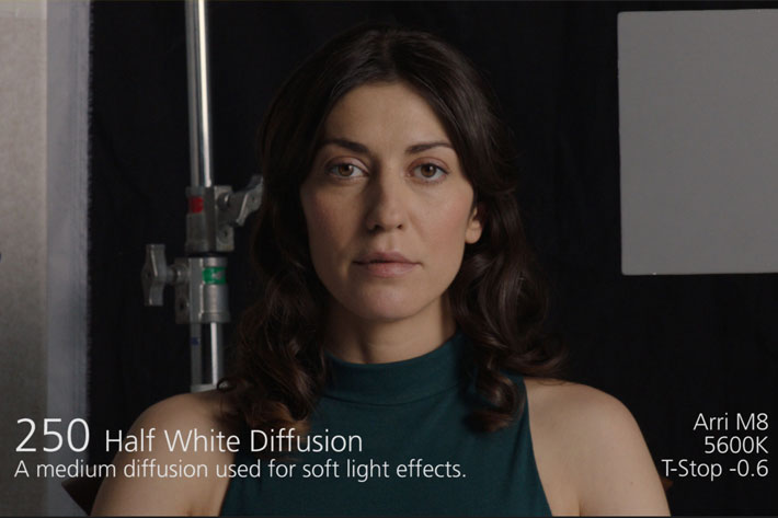 LEE Filters Diffusion Comparator, a light diffusion guide for Android and iOS