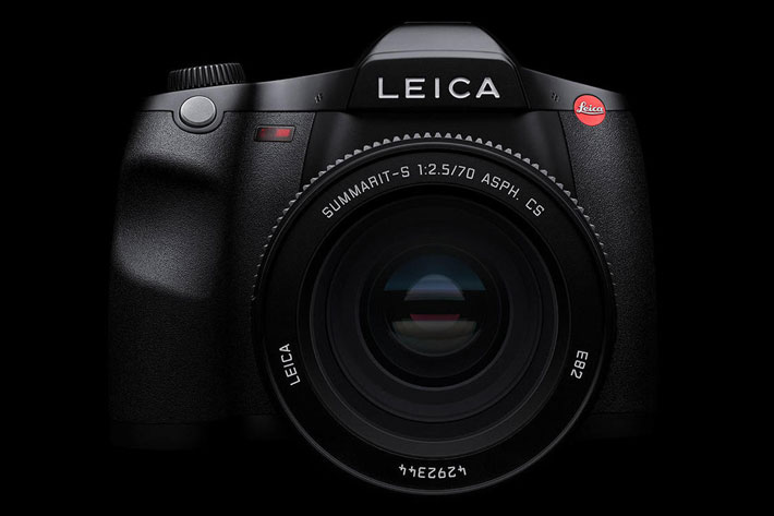 Leica S3: medium format camera with 4K cinema resolution