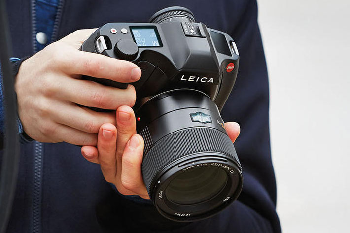 Leica S3: medium format camera with 4K cinema resolution