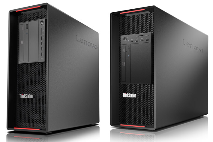 Lenovo introduces ThinkStation P920 and P720