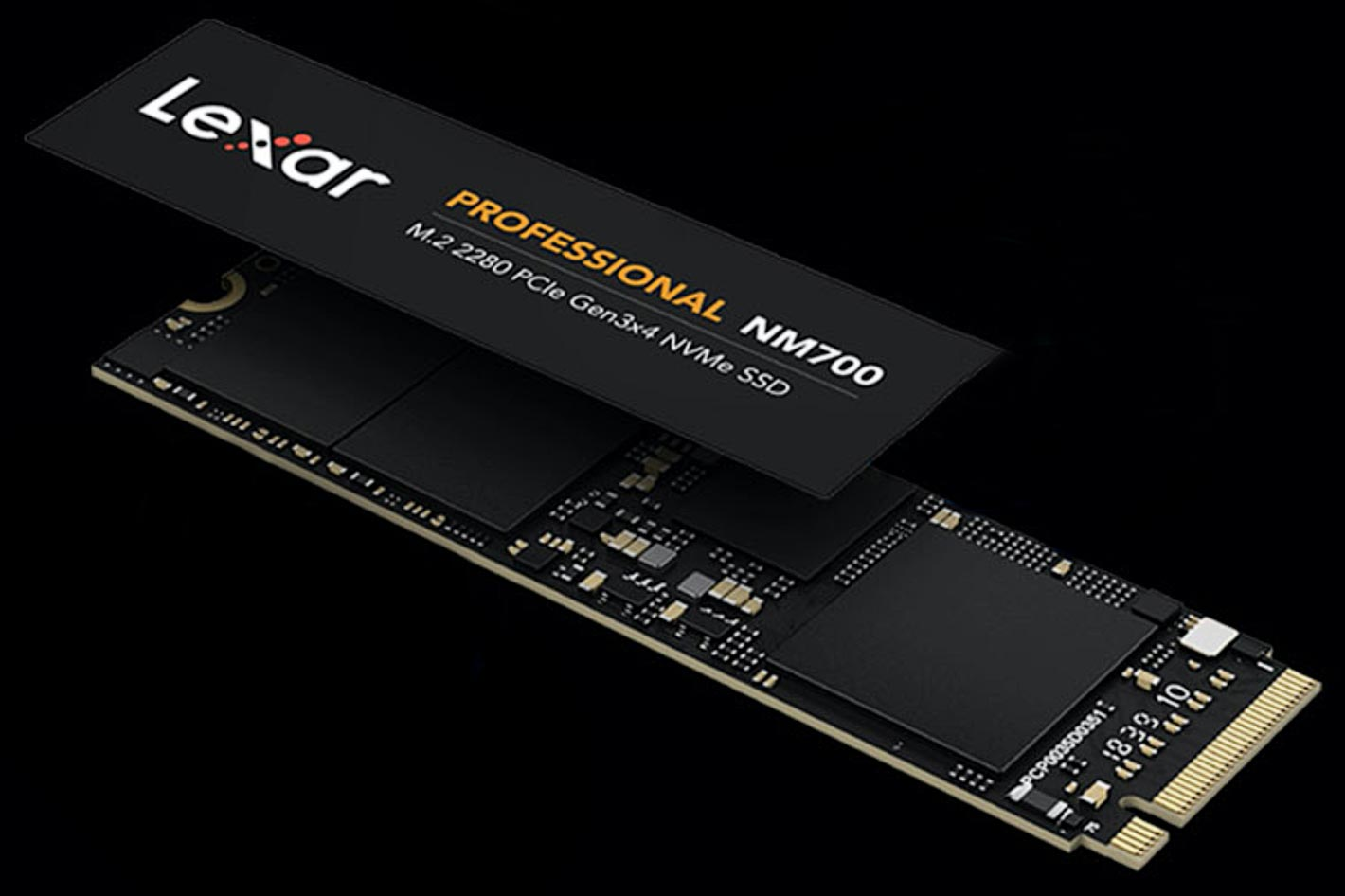 Lexar Professional NM700 M.2 2280: 6.5x faster than a SATA based SSD