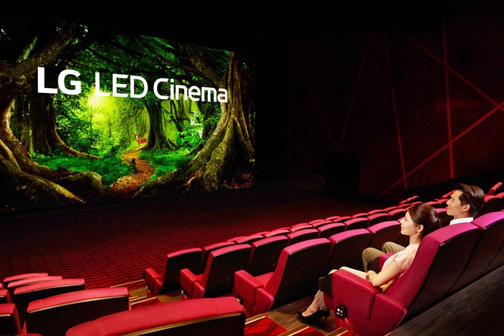 A theater for the future: LED Cinema display and Dolby Atmos