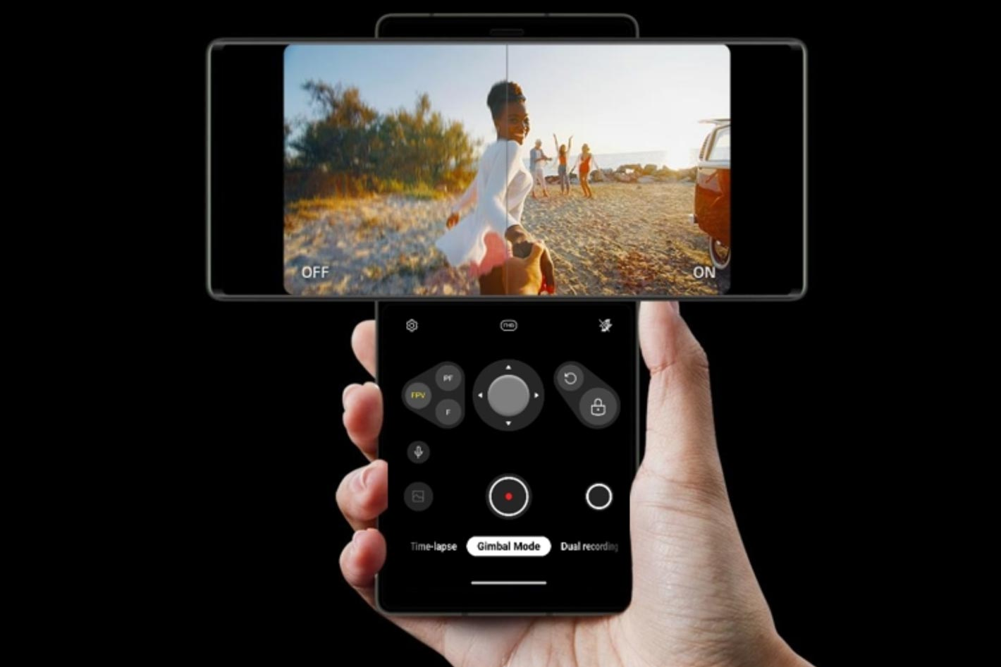 LG WING: an innovative smartphone for filmmakers