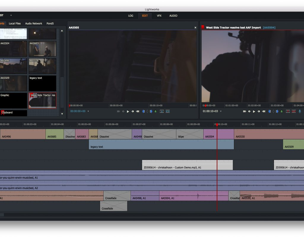 An in-depth chat with editor Scott Hill about Lightworks 1