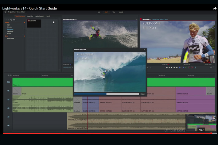 Lightworks 14: new features and interface