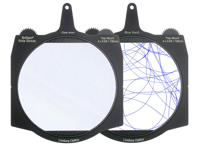 Lindsey Optics: new Brilliant² Rota-Streak filters for cinematography