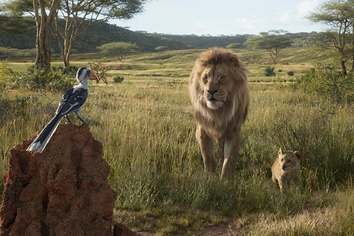 The Lion King: a film shot inside a game engine, with VR and Virtual Production 9