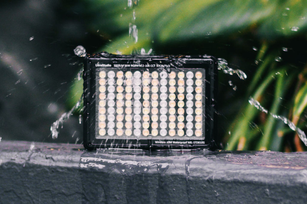 LitraStudio: a wireless and waterproof RGBWW 3,000-lumen light