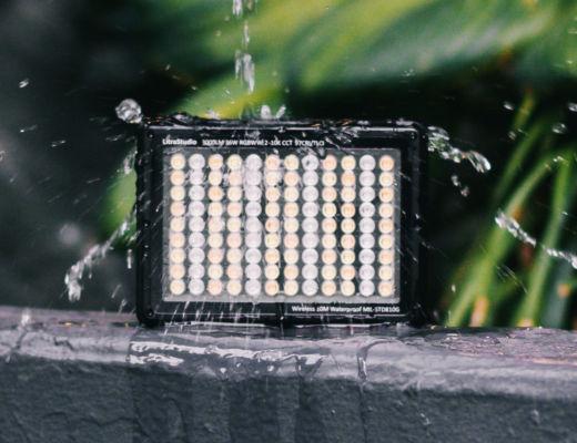 LitraStudio: a wireless and waterproof RGBWW 3,000-lumen light
