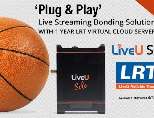LiveU Solo Premium Live Streaming Bonding solution