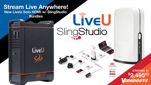 Live Streaming Bundle Lets You Stream Live Anywhere! 3