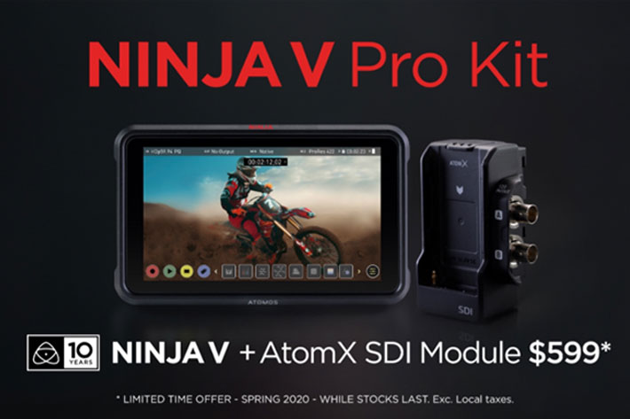 Atomos Lock-Down Price-Down: get the Ninja V Pro kit for $599