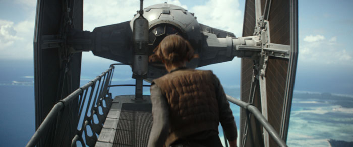 "ART OF THE CUT with Jabez Olssen on editing ""Rogue One"" 7"