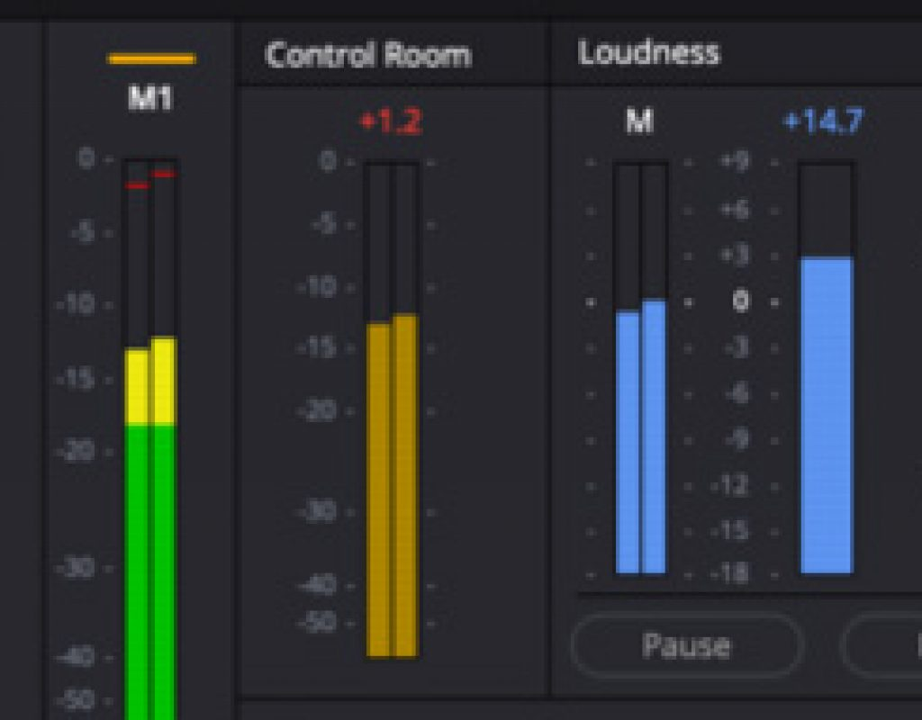 DaVinci Resolve 16 adds LUFS audio loudness standards + linear features. 1