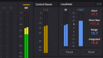 DaVinci Resolve 16 adds LUFS audio loudness standards + linear features. 13