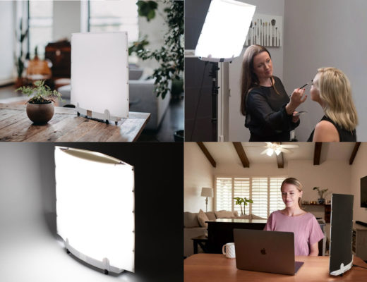 Lowel EGO LED light: a desk light for video and photography