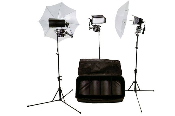 Tota LED Production Kit: a lighting kit for ENG and independent productions