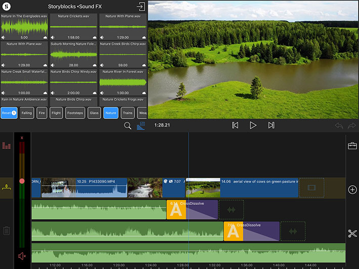 LumaFusion: new features and Storyblocks integration at IBC 2018
