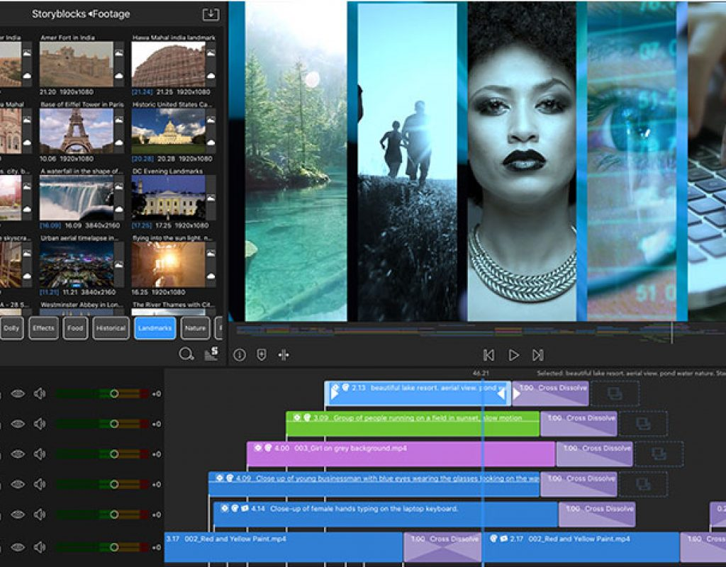 LumaFusion 2.0 supports 12 tracks, markers and external monitor 9