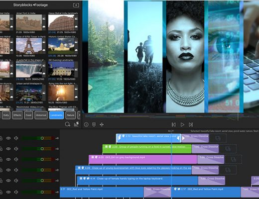 LumaFusion 2.0 supports 12 tracks, markers and external monitor 4