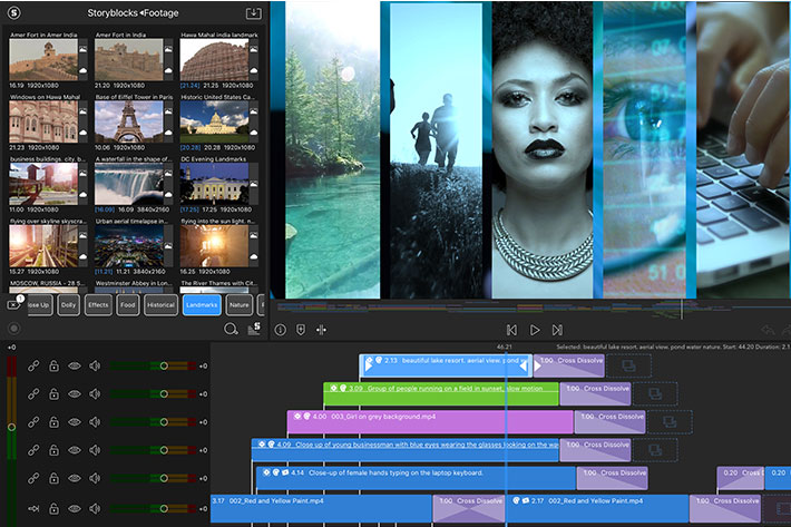 LumaFusion 2.0 supports 12 tracks, markers and external monitor 10