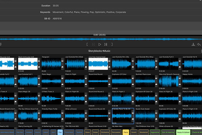 LumaFusion 2.0 supports 12 tracks, markers and external monitor 11