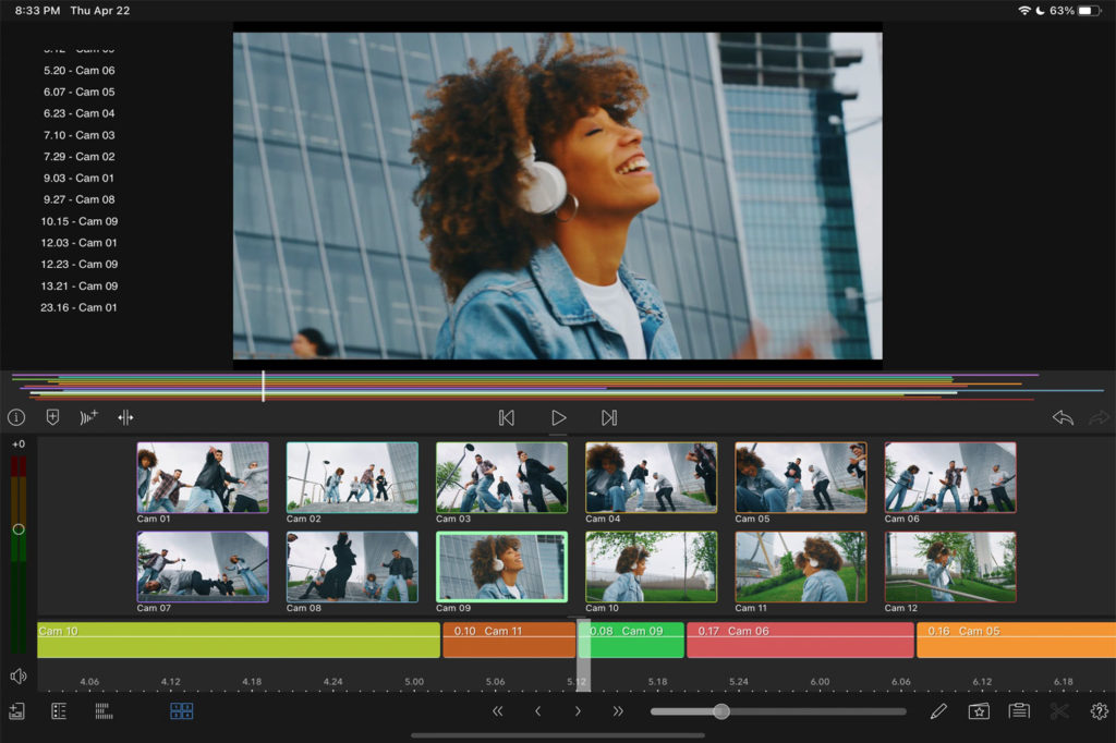 LumaFusion shows new features at the Apple Spring Loaded event