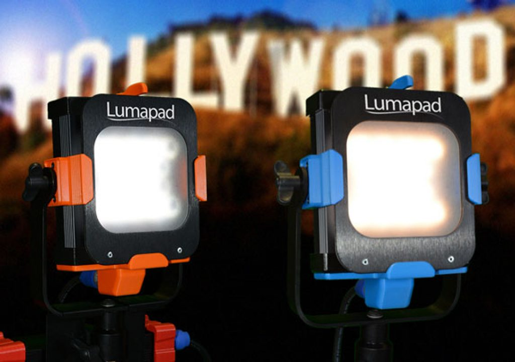 Lumapad: LED professional lights at crowdfunding prices 1