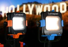 Lumapad: LED professional lights at crowdfunding prices
