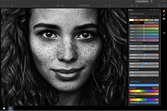 Luminar: beta version available for Windows