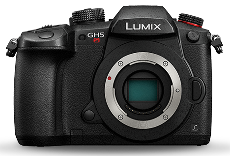 Front view of Lumix GH5S