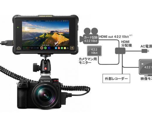 Panasonic S1 gets V-Log like the EVA1 with a paid upgrade