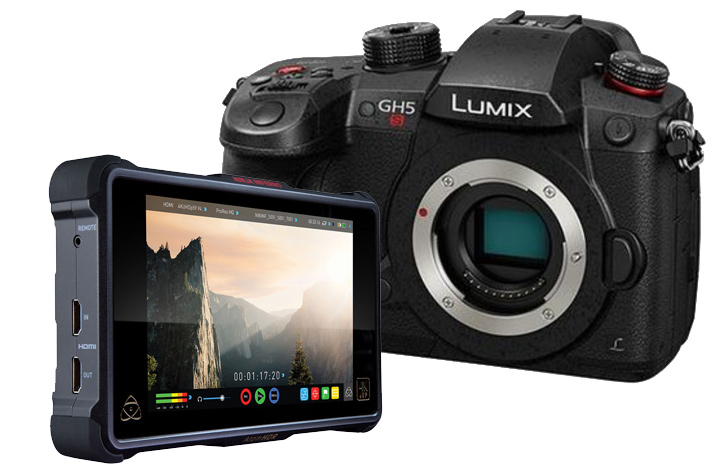 Panasonic GH5S and Atomos Ninja Inferno: a nice pair