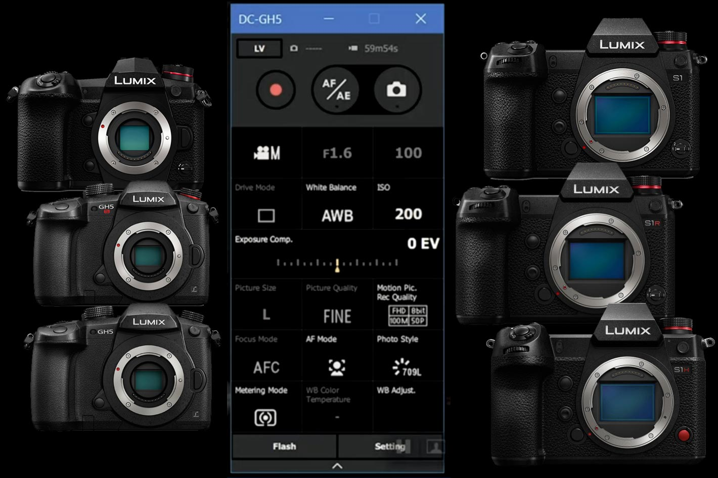 Panasonic releases LUMIX Tether for Streaming with S1, GH5 and G9 cameras