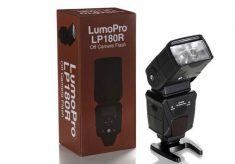 LumoPro flash with Phottix Odin receiver