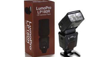 LumoPro flash with Phottix Odin receiver