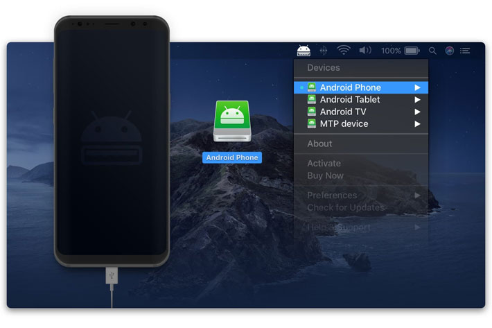 MacDroid: connect your Mac to your Android device
