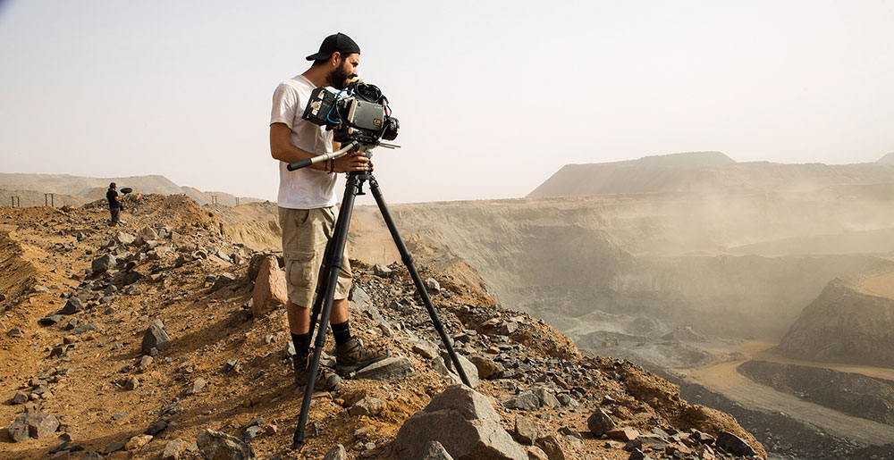 MacGregor: shooting from atop a moving train with the Sony F35