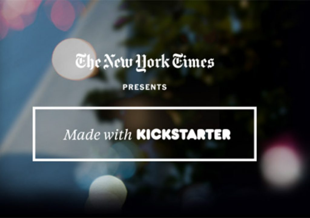 New York Times Shows Documentaries Made With Kickstarter 1
