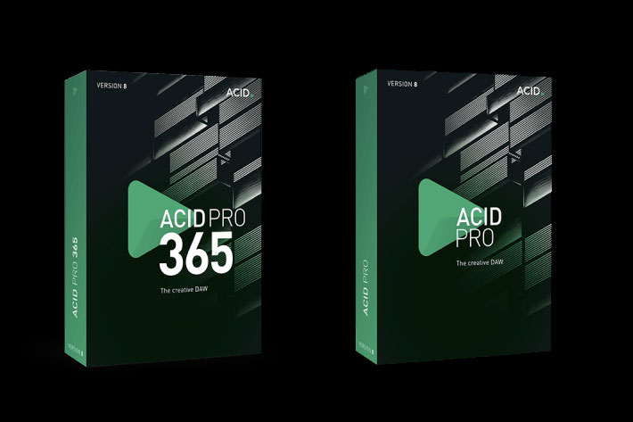 ACID Pro and SOUND FORGE Pro 12 updated