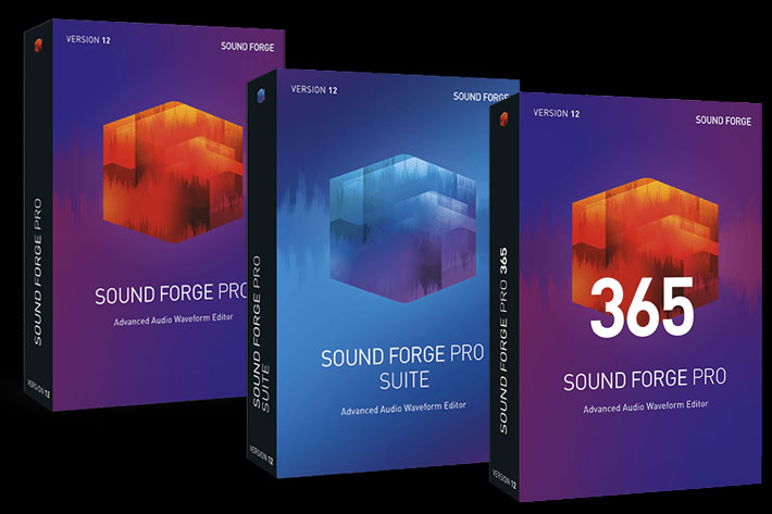 ACID Pro and SOUND FORGE Pro updated by Jose Antunes