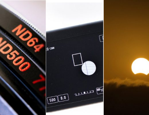 Manfrotto ND filters, the eclipse and the power of stacking
