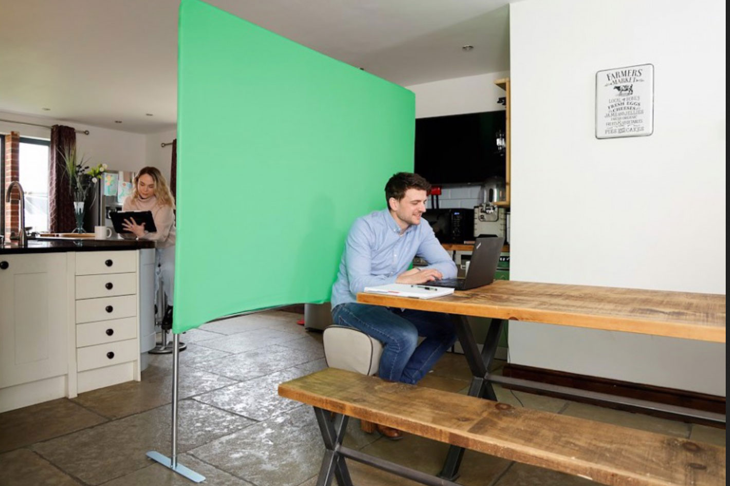 Manfrotto introduces backgrounds for video calls
