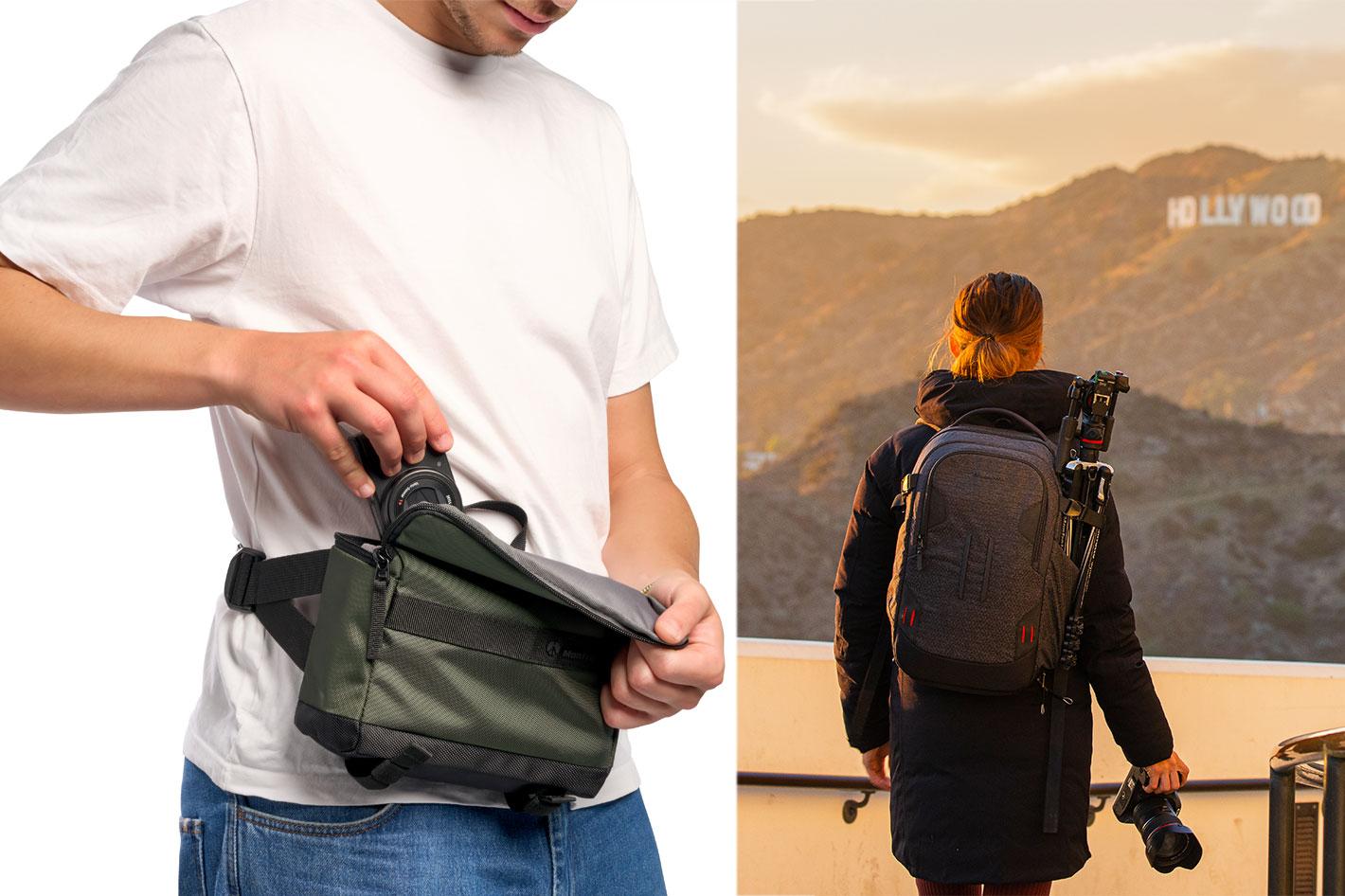 Manfrotto renews its camera bag range