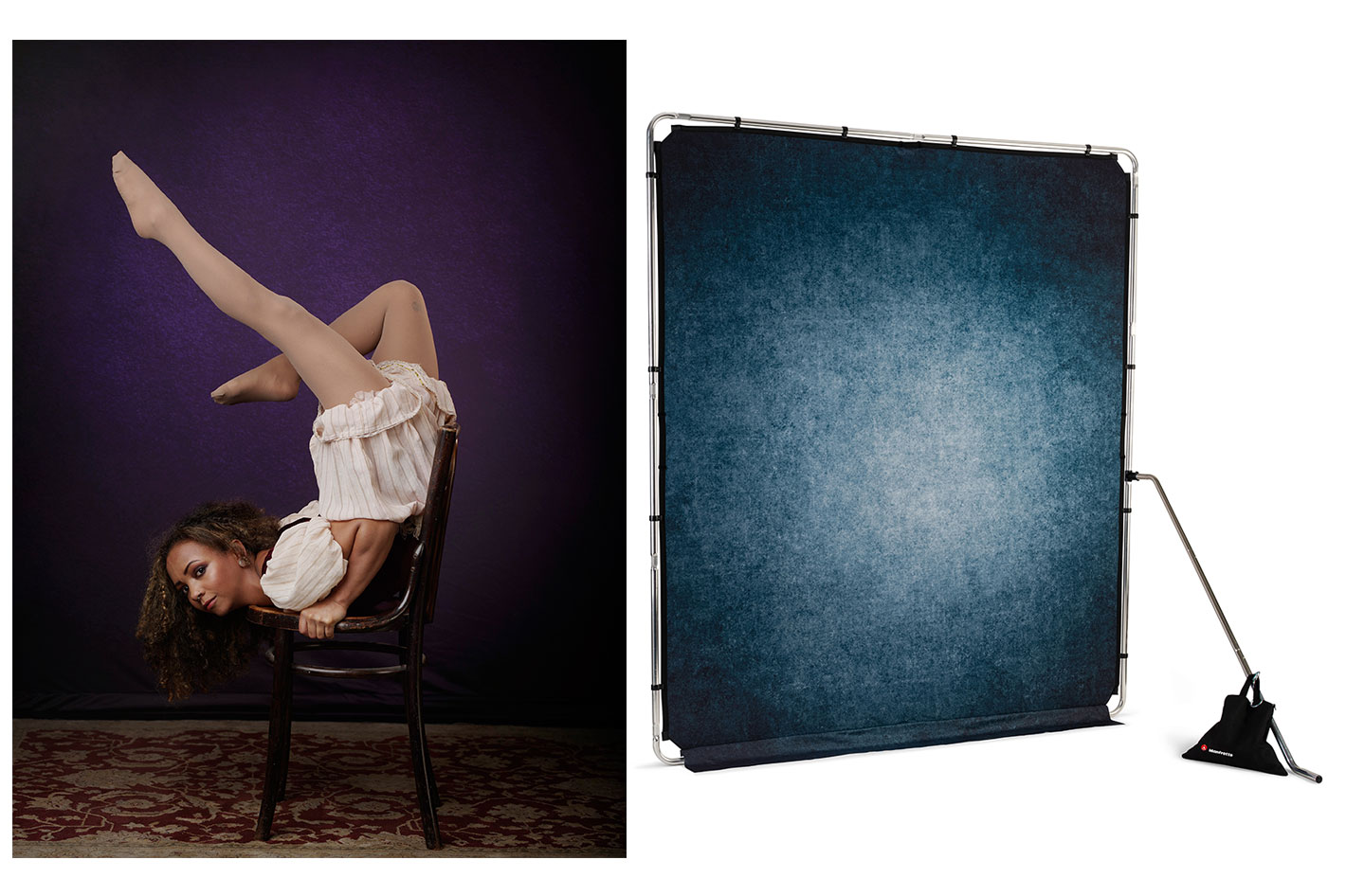 Six new EzyFrame backgrounds from Manfrotto